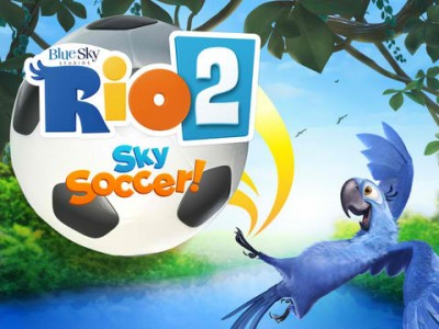 As The World Cup Heats Up In Brazil, Kids Can Get Soccer Fever With Rio 2 Sky Soccer!