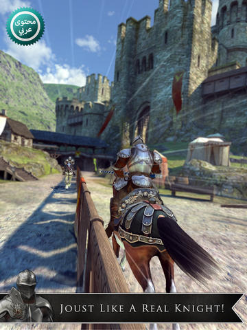 This Joust In: Gameloft Releases Medieval Combat Game Rival Knights
