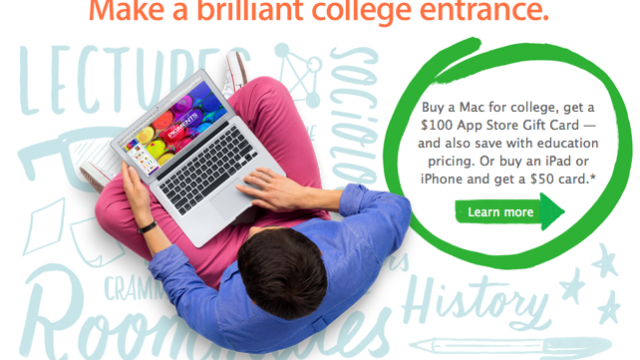 Apple's 'Back To School' Promotion Could Start In 2 Weeks