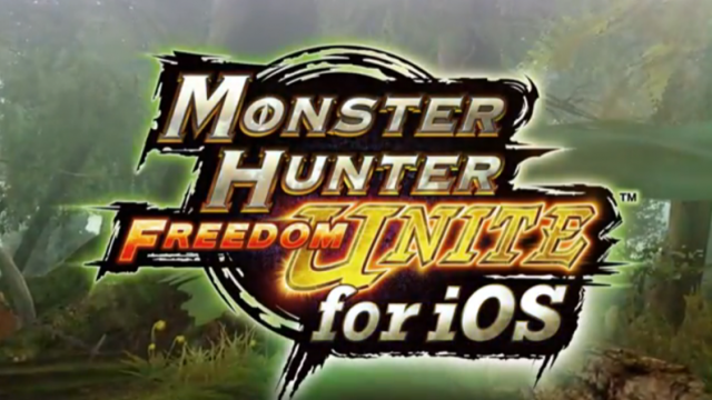 Capcom Confirms: Monster Hunter Freedom Unite Is Coming To An App Store Near You