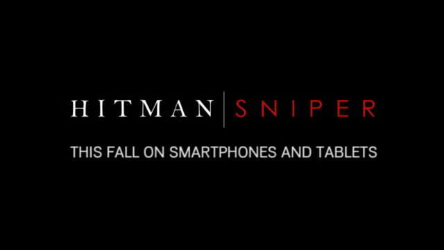 Hitman: Sniper, A More Traditional Hitman Game, Is Launching For iOS This Fall