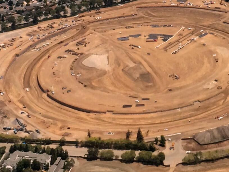 Progress On Apple's Futuristic Spaceship-Like 'Campus 2' Continues
