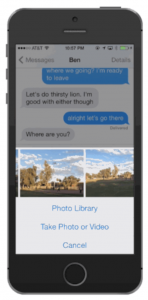 In iOS 8 Beta 2, Browsing Photos In The Messages App Is A Lot Easier