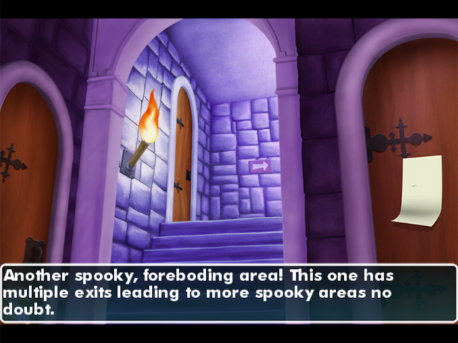 Can You Save The Princess In CastleAbra: A Dark Comic Fantasy For iPad?