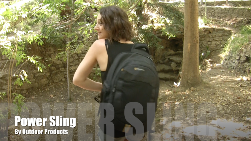 AppAdvice Daily: The New Power Pack Sling Backpack Is Optimized For The Tech Junkie