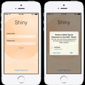 Apple Lets Users Tap Into Safari's Passwords And AutoFill To Log In To Apps In iOS 8