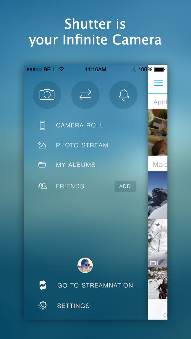 StreamNation Unveils Shutter, The 'Infinite Camera' With Free And Unlimited Cloud Storage