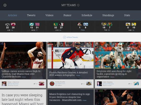 SportsManias 2.0 Features New Design, Push Notifications And More