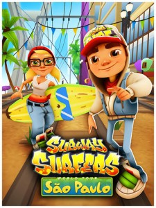 Subway Surfers Catches Soccer Fever In São Paulo For 2014 World Cup