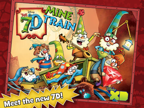 Disney Launches The 7D Mine Train Game Based On 'The 7D' Animated TV Series