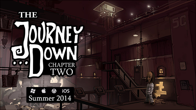 The Journey Down: Chapter Two out on Aug. 25 - Preorder the desktop edition now