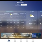 Looking Good: The Weather Channel App For iPad Goes 4.0 With iOS 7 Redesign