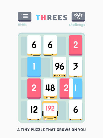 New Update With Various Improvements Slides Into Hit Indie Game Threes!