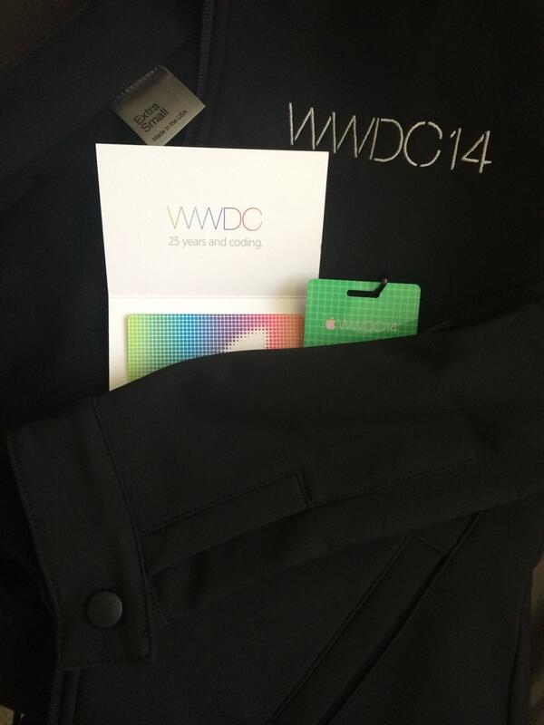 WWDC 2014 Attendees Get Conference Jackets Plus $25 App Store Gift Cards
