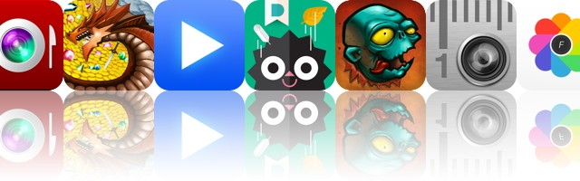 Today's Apps Gone Free: InstaFood, Dungeon Plunder, LeechTunes And More