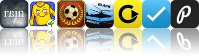 Today's Apps Gone Free: Strange Rain, Gro Book, Flick Kick Football And More
