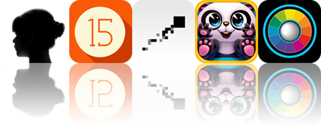 Today's Apps Gone Free: Diana Photo, 15 Coins, iColorama S And More