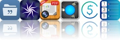 Today's Apps Gone Free: Quotes Folder, Hyp, WorldScan And More