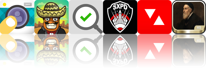 Today's Apps Gone Free: oSnap, Amigo Pancho, Checklist Inspector And More