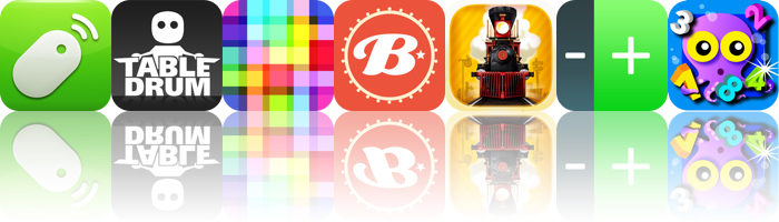 Today's Apps Gone Free: Remote Mouse, TableDrum, Makanim And More