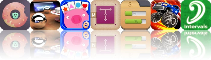 Today's Apps Gone Free: Doughbot, Multiponk, Shapes Memory Match And More
