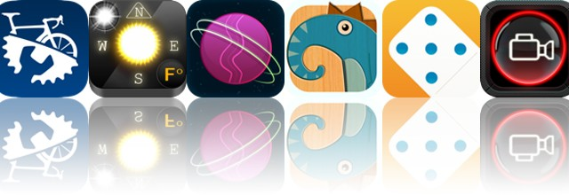 Today's Apps Gone Free: Bike Repair, Weather Compass, Gravitations And More