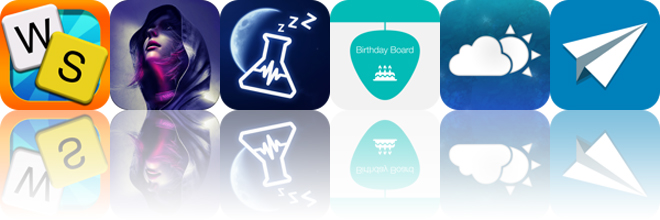 Today's Apps Gone Free: Word Sweep, Republique, SnoreLab And More