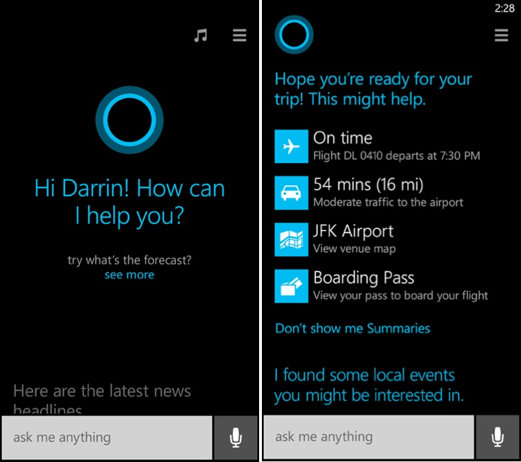 Siri, Take Note: Microsoft May Bring The Cortana Voice Assistant To iOS Devices