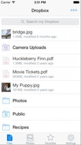 Dropbox Update Brings The Ability To Reorder A Favorites List And More