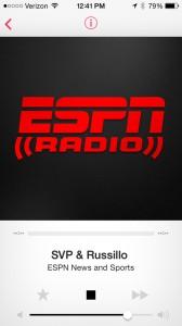 ESPN Radio And Local NPR Affiliates Arrive On iTunes Radio