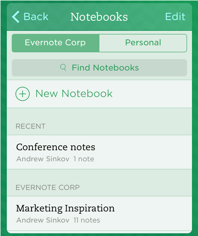 Evernote Update Brings Business Card Scanning Improvements And More