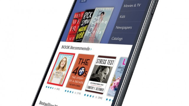 Barnes & Noble To Partner With Samsung To Produce Co-Branded NOOK Tablets