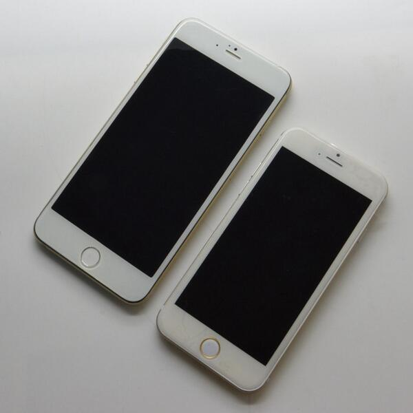 See Apple's 4.7-Inch And 5.5-Inch 'iPhone 6' Models Side By Side In These Mockup Photos