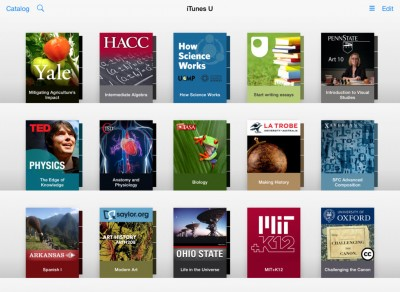 Apple To Update iTunes U With Course Creation For Teachers And Discussions For Students