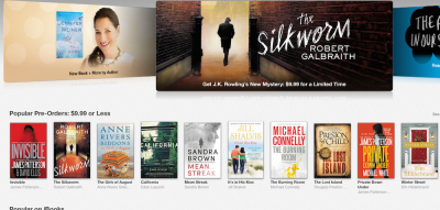 Apple Is Discounting Hachette Books Amazon Refuses To Sell
