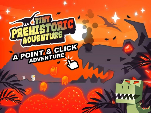 Following Tiny Space Adventure, Here Comes Tiny Prehistoric Adventure