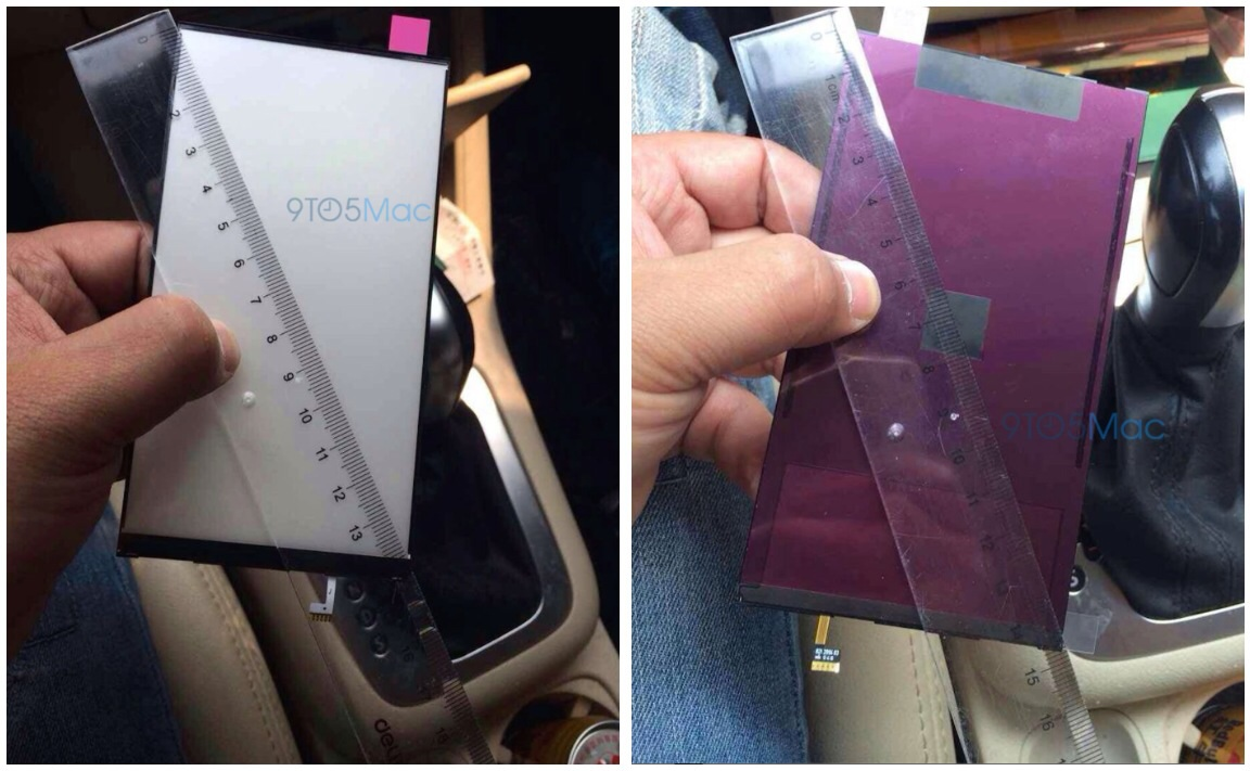 New Leaked Photos Show Display Measurement Of Apple's 5.5-Inch 'iPhone 6'