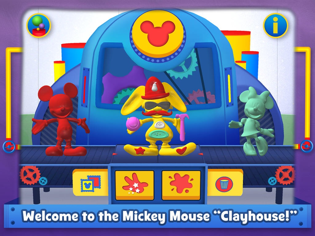 Disney's Squish: Mickey Mouse Clubhouse Lets Kids Sculpt Crazy Clay Creations