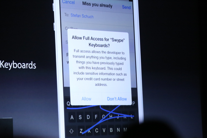 Apple Allows Third Party Keyboards In iOS 8