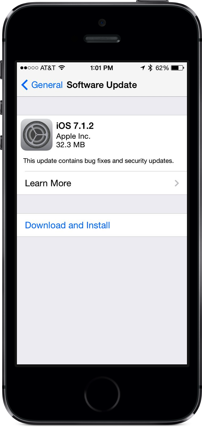 Apple Releases iOS 7.1.2 Update With iBeacon, Mail Improvements