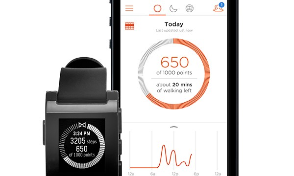A Misfit Activity Tracking App Is Now Available For The Pebble Smart Watch