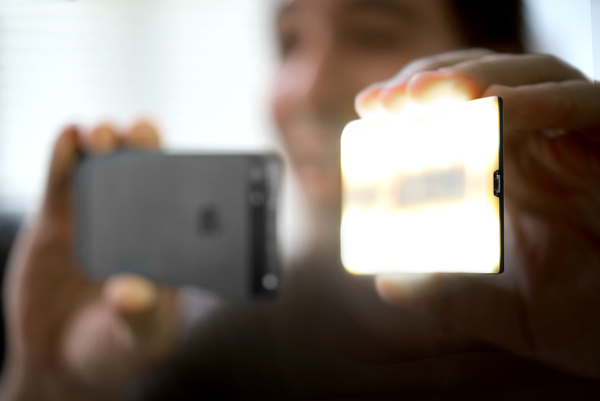 Nova Is A Bluetooth-Enabled, Wireless External Flash For Your iPhone