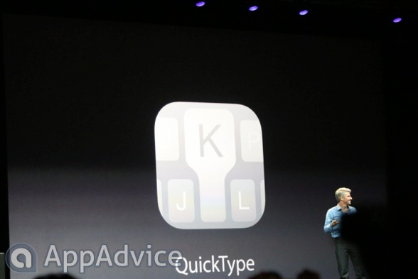 Apple's iOS 8 Includes QuickType Technology