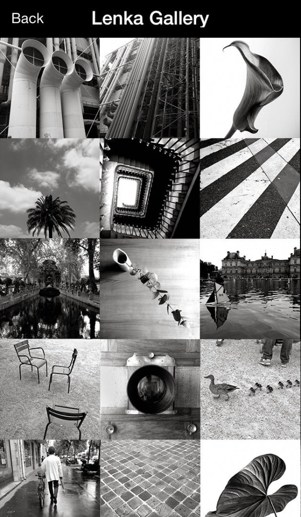See The World In Black And White As You Shoot With Lenka On Your iPhone