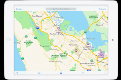 A New Screenshot Shows Public Transit Information In Apple's Maps App For iOS 8