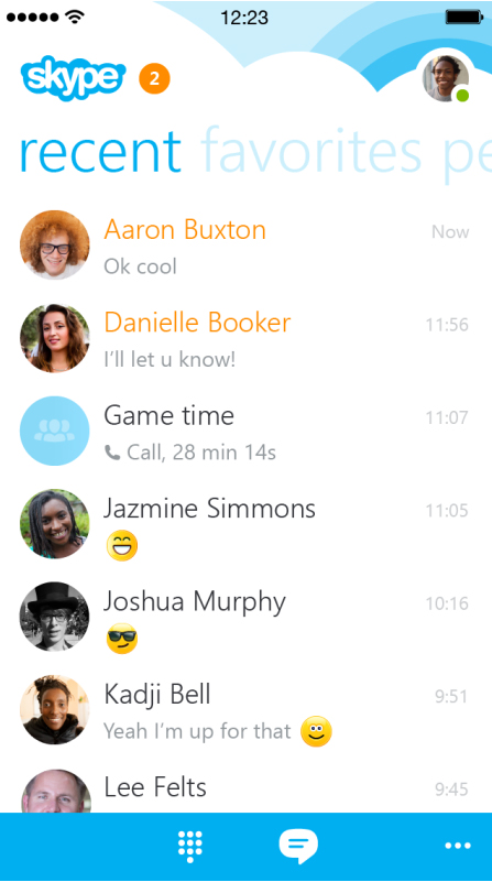 Skype Unveils A Big Update To Its iPhone App With A Revamped UI And More