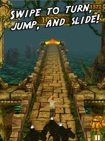 Temple Run Games Tally More Than 1 Billion Downloads