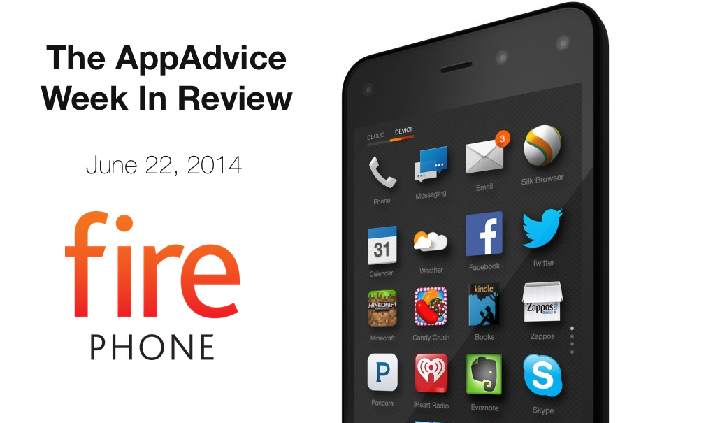 The AppAdvice Week In Review: The Fire Phone, iWatch And More