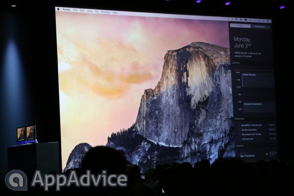 Apple's OS X Yosemite Includes Advanced Notification Center, Spotlight Feature