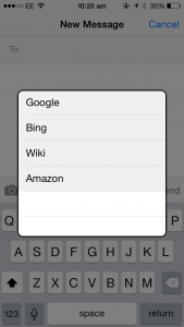 Cydia tweak: PopSearch brings a useful search button to the popular Action Menu